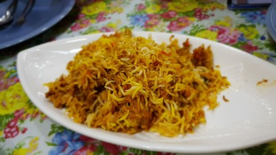 ข้าวหมกไก่ Chicken Briyani