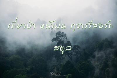 เที่ยวป่า หน้าฝน ภูธารรีสอร์ท