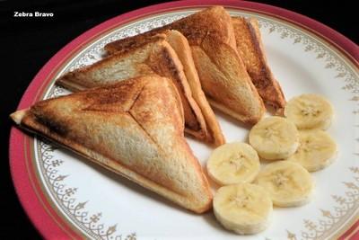 Hot Banana Sandwich