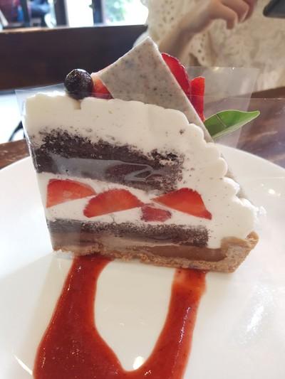 Strawberry Chocolate Nama Tart
