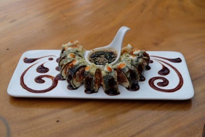Spicy tuna tempura (8pcs)