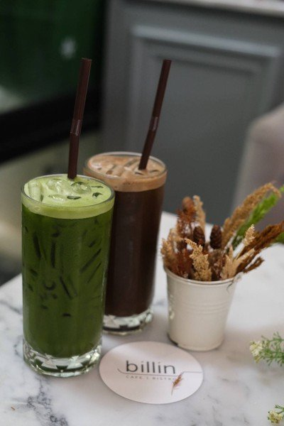 Iced matcha with water##1