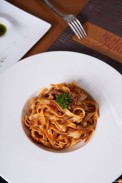 Tagliatelle with Lamb Ragu