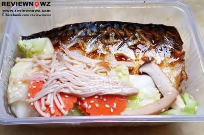 ข้าวหน้าปลาซาบะยักษ์ย่าง##1