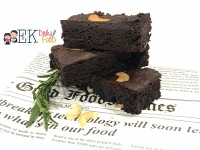Brownie จากหม้ออบลมร้อน