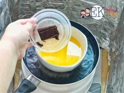 วิธีทำ Brownie จากหม้ออบลมร้อน