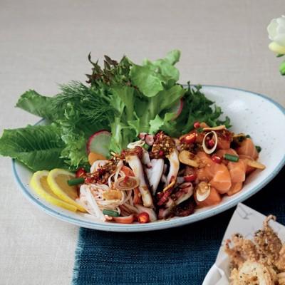 Spicy Seafood Sashimi##1