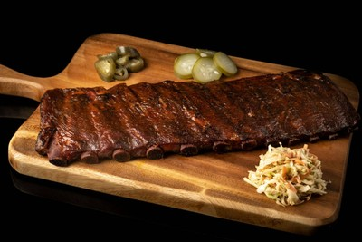 50% Off! Full Rack Hickory Smoked Pork Ribs