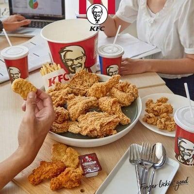 KFC (เคเอฟซี) ปั้ม PT ถนนกาญจนาภิเศก ตรงข้ามเยื้องแมคโครบางบอน