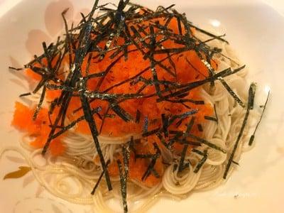 โซเม็งไข่ปลาชิชาโมะ