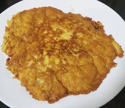 หมูสับไข่เจียวสูตรหนาและกรอบ
