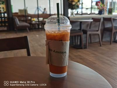 DD3298 - Café Amazon (คาเฟ่ อเมซอน) สถานีบริการ NGV ปตท. ไชโย เอ็นจีวี