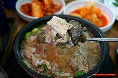 3. Soondae soup