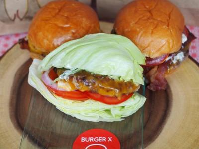 Naked X Burger ( Pork )