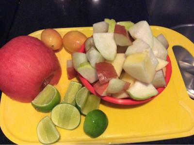 วิธีทำ ส้มตำผลไม้ 🥝🍎🍋