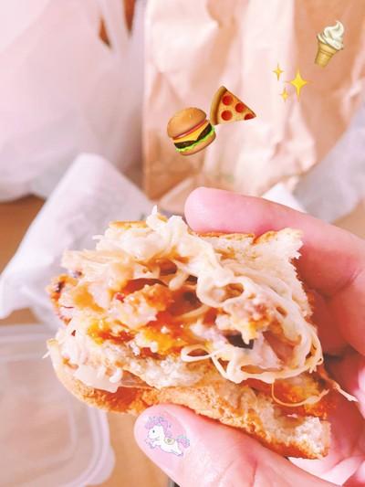 Burger 🍔 ปลาหมึกยักษ์