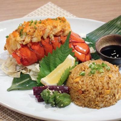 ดีลสุดคุ้มข้าวหน้าพรีเมียม เลือกได้ระหว่าง ล็อบสเตอร์ย่างไข่ปลา  หรือ วากิวคาโกชิม่าด้ง  หรือ แซลมอนว้าว