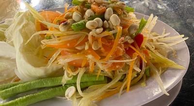 ส้มตำไทย ปู