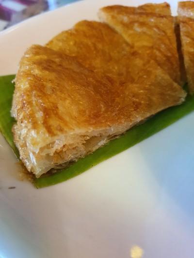 โรตีแกงเขียวหวานไก่