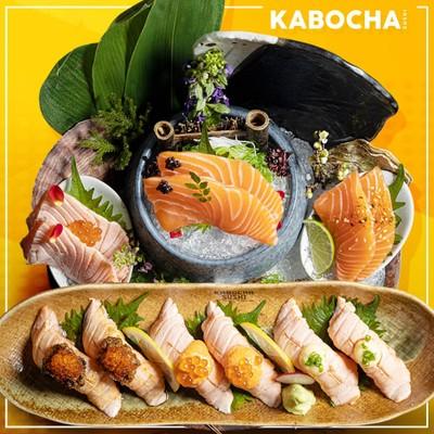 Kabocha Sushi (คาโบฉะ ซูชิ) the street รัชดา