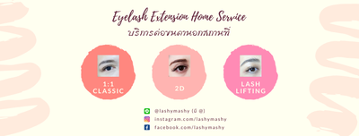 Lashy Mashy - Eyelash Extension Delivery