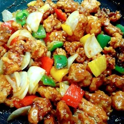 ไก่กรอบซอสเปรี้ยวหวาน( สูตรไม่ใส่สับปะรด) แต่คอนเฟริมความอร่อย 😁