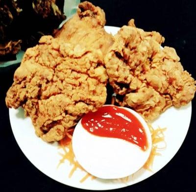 ไก่ทอดกรอบๆ (ก๊อปปี้ KFC) 😁กรอบ อร่อย จริงๆนะ😁