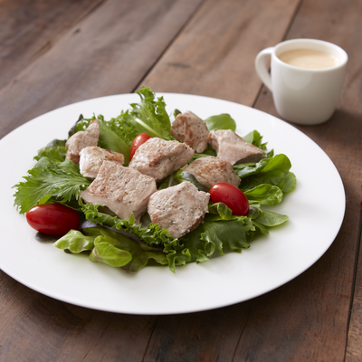 Grilled Chicken Salad with Sesame Dressing