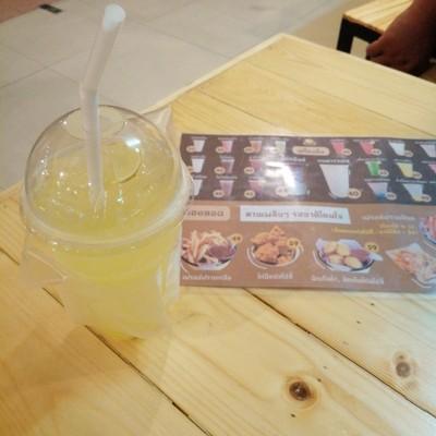 น้ำผึ้งมะนาวโซดา