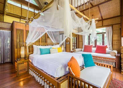 ดีลที่พัก ห้องแบบ  Floating Villas จำนวน 1 คืน (รวมอาหารเช้าสำหรับ 2 ท่าน)