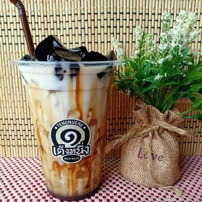 เต็งหนึ่งคาเฟ่ - Teng 1 Cafe'   (ชานมไข่มุก เฉาก๊วยนมสด ชา กาแฟ ชาชีส เครื่องดื่ม) สาขาตลาดกันเอง