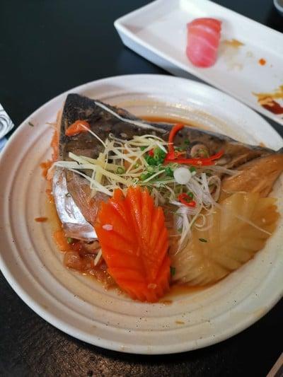หัวปลานึ่งซีอิ๊ว