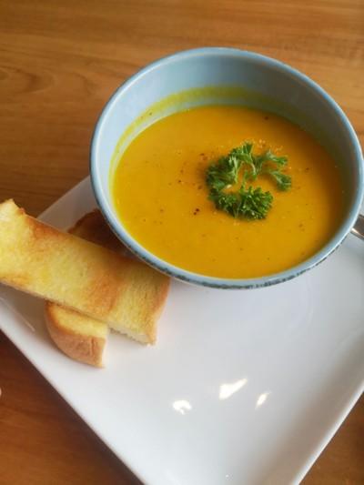 ซุปแครอทขิง Carrot and ginger