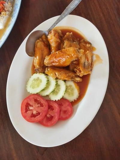 ไก่ซอสเหล้าเเดงจีน