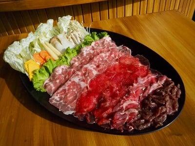 ชุดเนื้อโคขุน
