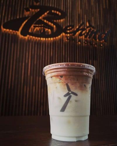 Behind Coffee Bar