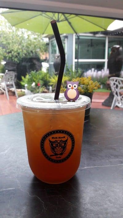 ชาเขียวมะนาว