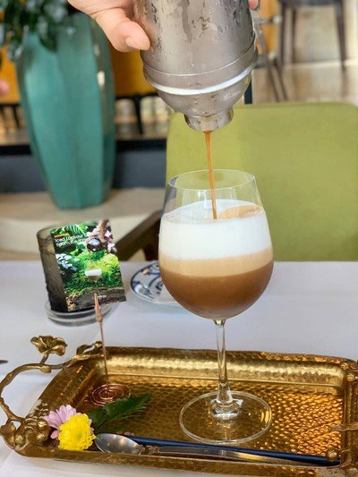 Iced Lamour Caffee Foam Ice Cream