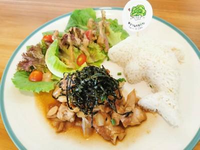 ข้าวหน้าไก่สไตล์ญี่ปุ่น