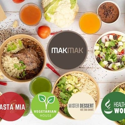 Mak Mak (Quinoa Healthy Power Bowls - Pasta Mia - Pizza Mia - Healthy Wok - Vegetarian House - Mister Dessert) (ควินัว เฮลตี้ พาวเวอร์ โบล)