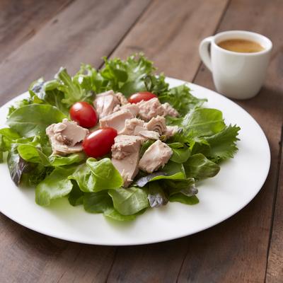 Tuna Salad with Herb Vinaigrette Dressing