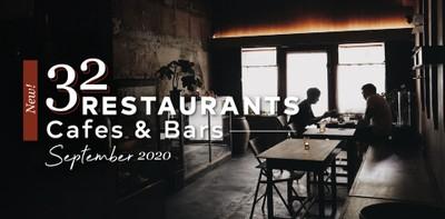 32 ร้านอาหาร คาเฟ่ และบาร์เปิดใหม่ ประจำเดือนกันยายน 2020