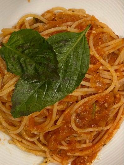 สปาเก็ตตี้โปโมโดโรซอส (Pomodoro sauce)