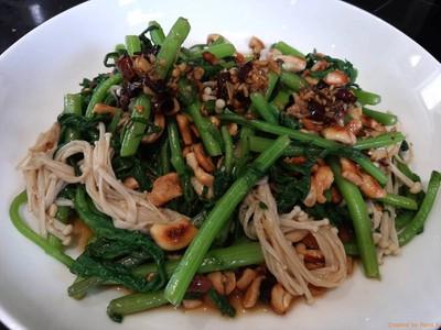 ตั้งโอ๋ยำเห็ดเข็มทอง เมนูผักๆรสแซ่บ หอมน้ำมันงาและพริกไทยเสฉวน