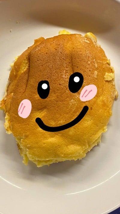 แพนเค้ก(จากแป้งแพนเค้กสำเร็จรูป)🥞🧈