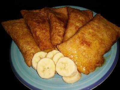 โรตีขนมปังกล้วย