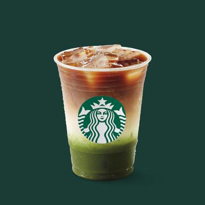 Iced Matcha Espresso Fusion