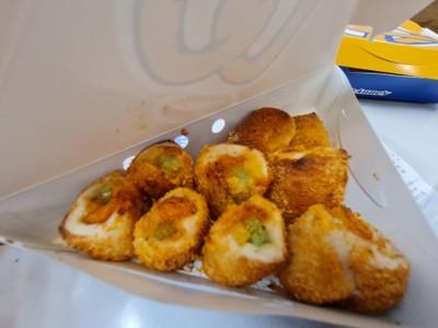 ชีสซี่ ชิกเก้น ไบท์ส (Cheesy Chicken Bites)