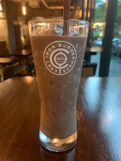 Double Dark Chocolate Milkshake