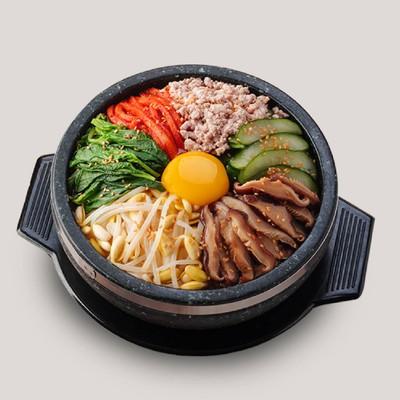 ข้าวยำเกาหลี(หมู)